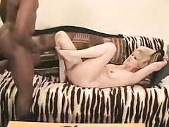 She Fucks with BBC Man in Front of Her Shocked Hubby