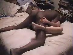 Cuckold Husband Films Wife Fucking with Big Black Dick Stud