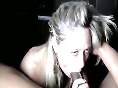 Superbe Blonde MILF Sucks so Good on a Big Black Dick