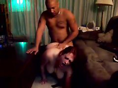 Redhead Wife First Time Trying Black Cock