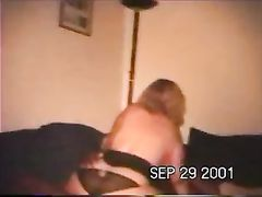 Wife Inspected by Husband While She Rides Black Dick