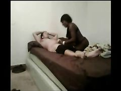 White Dude Fucks a Black Hooker