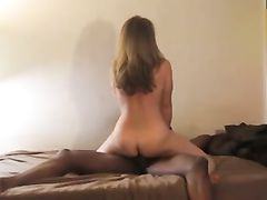 Lucky Black Dude Meets and Fucks Slutty White Woman