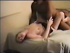 True Cuckold Husband Participates with Wife and Sucks Black Cock