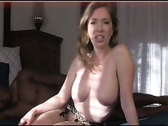 Beautiful Mature White Woman Passionate Fucking with Young BBC