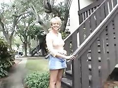 Interracial Sex with Absolute Stunning Mature Blonde Wife