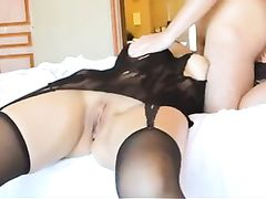 Superb Chinese Wife Shared Fucked and Creampied by Friend