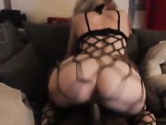 Super Sexy White Girl with Big Ass Riding so Good BBC