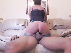 Super Sexy Mature Mom Rides Black Dick Like no Other