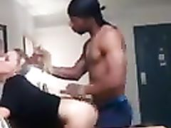 Super Fit Black Dude Pounding Hard a Very Horny White Girl