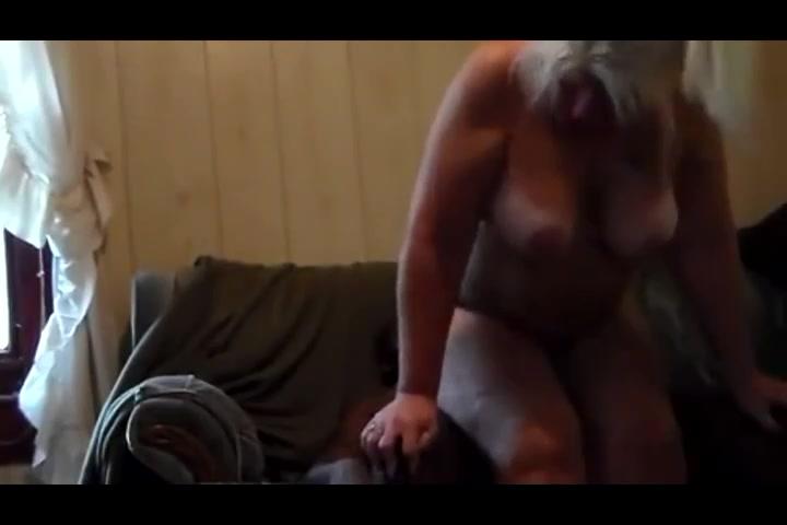 Mature blonde  fucked by hookup stranger